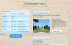 Clubhouse Hours Page