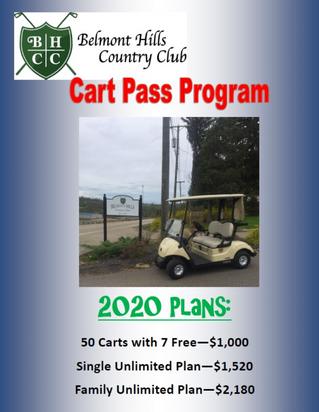 2020 Cart Pass Program
