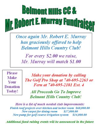 Robert E. Murray Fundraiser