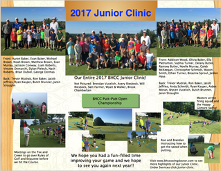 Junior Clinic Flyer