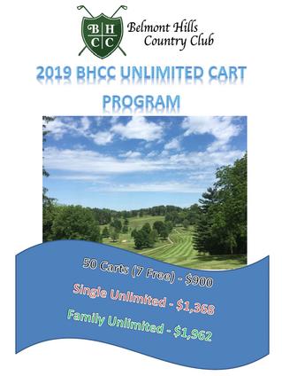 2019 Cart Pass Program