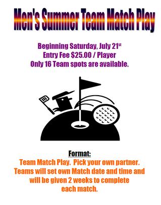 Summer Team Match Play