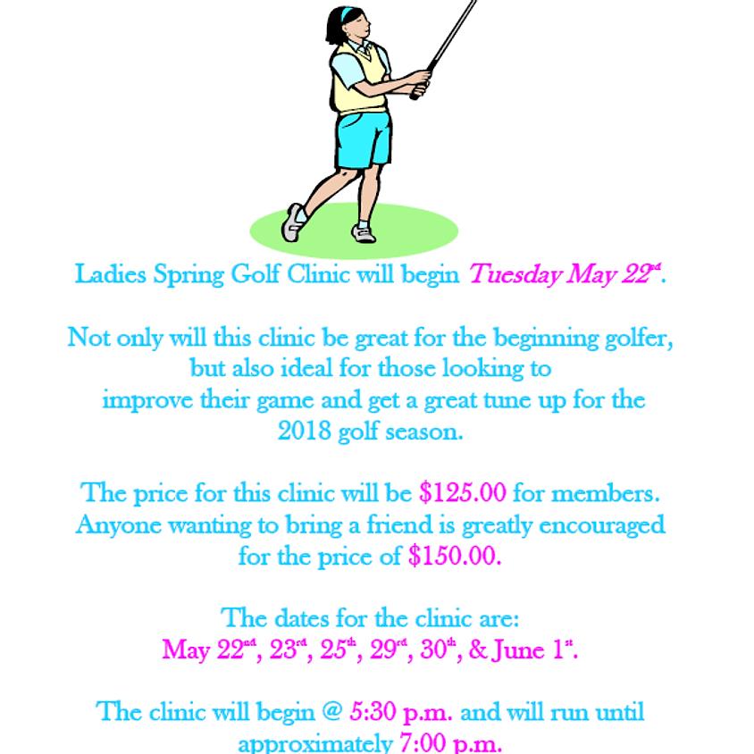 2018 Ladies Golf Clinic