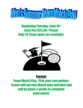Summer Team Match Play
