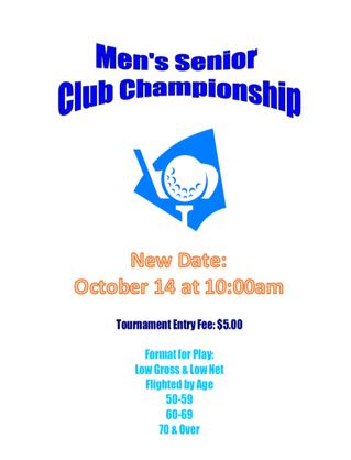 Senior Club Championship
