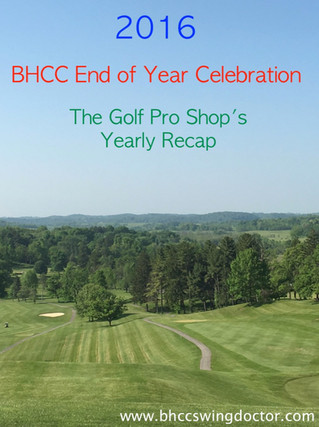 2016 BHCC Year Recap