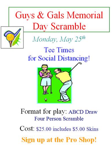 Memorial Day Tournament
