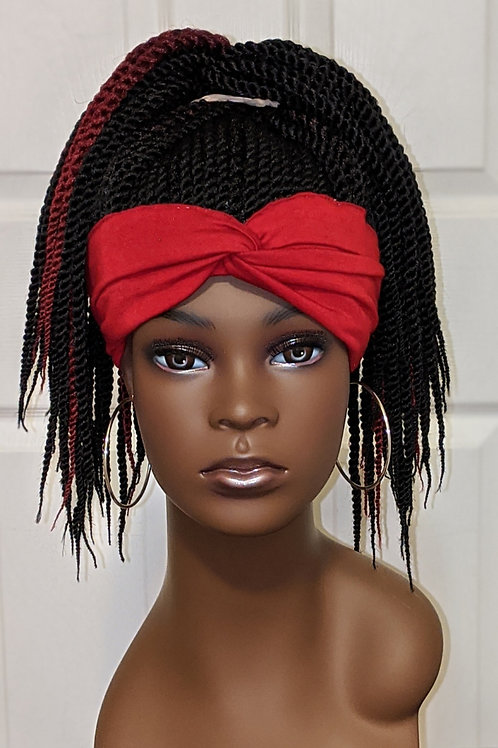 Headband Ponytail Wig