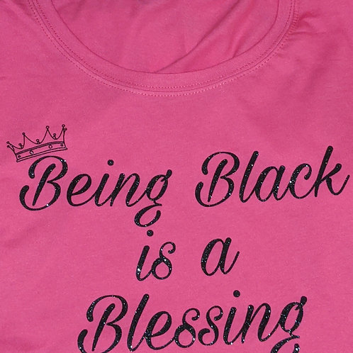 Being Black is a Blessing -Rasberry