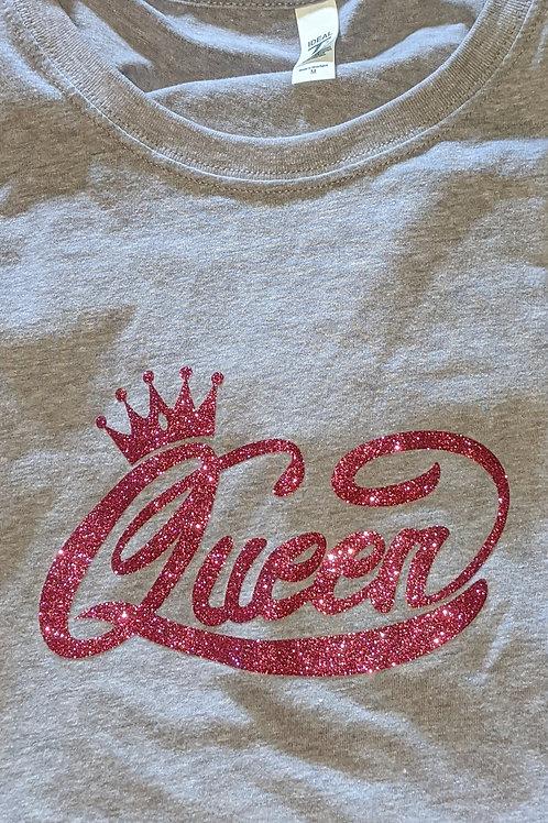 Queen Glitter - Grey