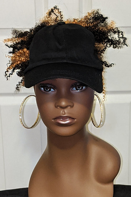 Hat Wig - Whirly Curl - 1B/27