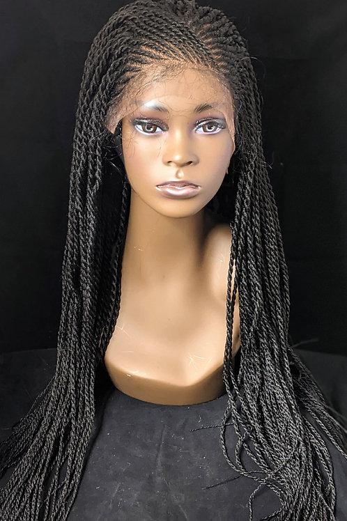 Senegalese Twists Braided Wig