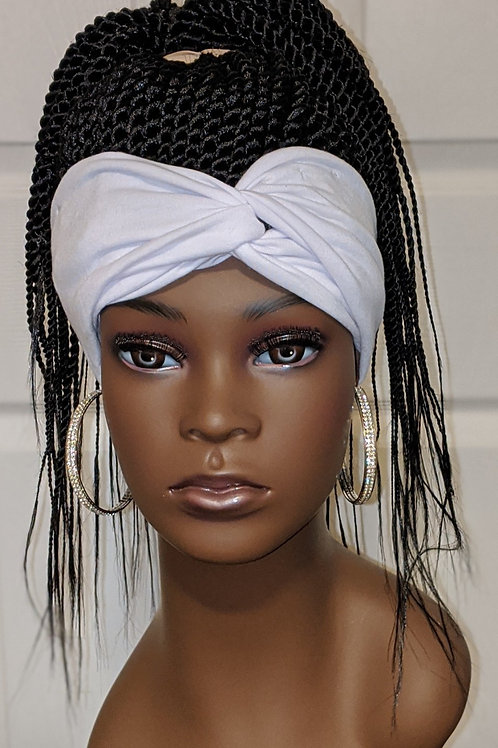 Headband Ponytail Wig -  #1 Twists