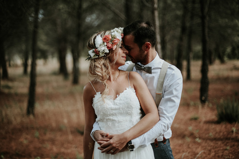 mariage provence paca var foret
