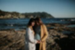 photographe grossesse bord de mer dansle var