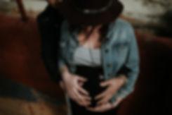 photographe grossesse en bord de mer à toulon