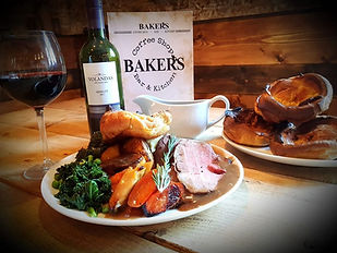 Baker's Egerton Roast Dinner