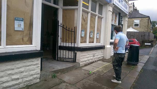 Baker's Egerton old front of shop