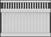ActiveYards - Vinyl fence - Hamden - Framed