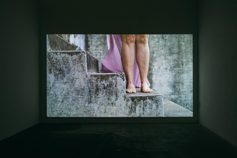 Azadeh Hamzeii 'Lytton's Kumain' 2020. Installation View. Photo: Charlie Hillhouse.