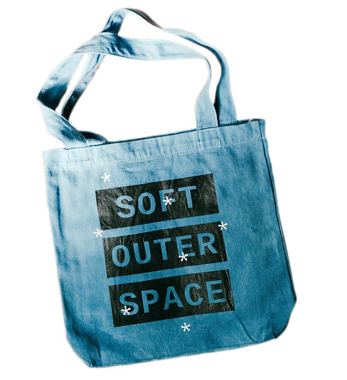 Outer Space Canvas Tote