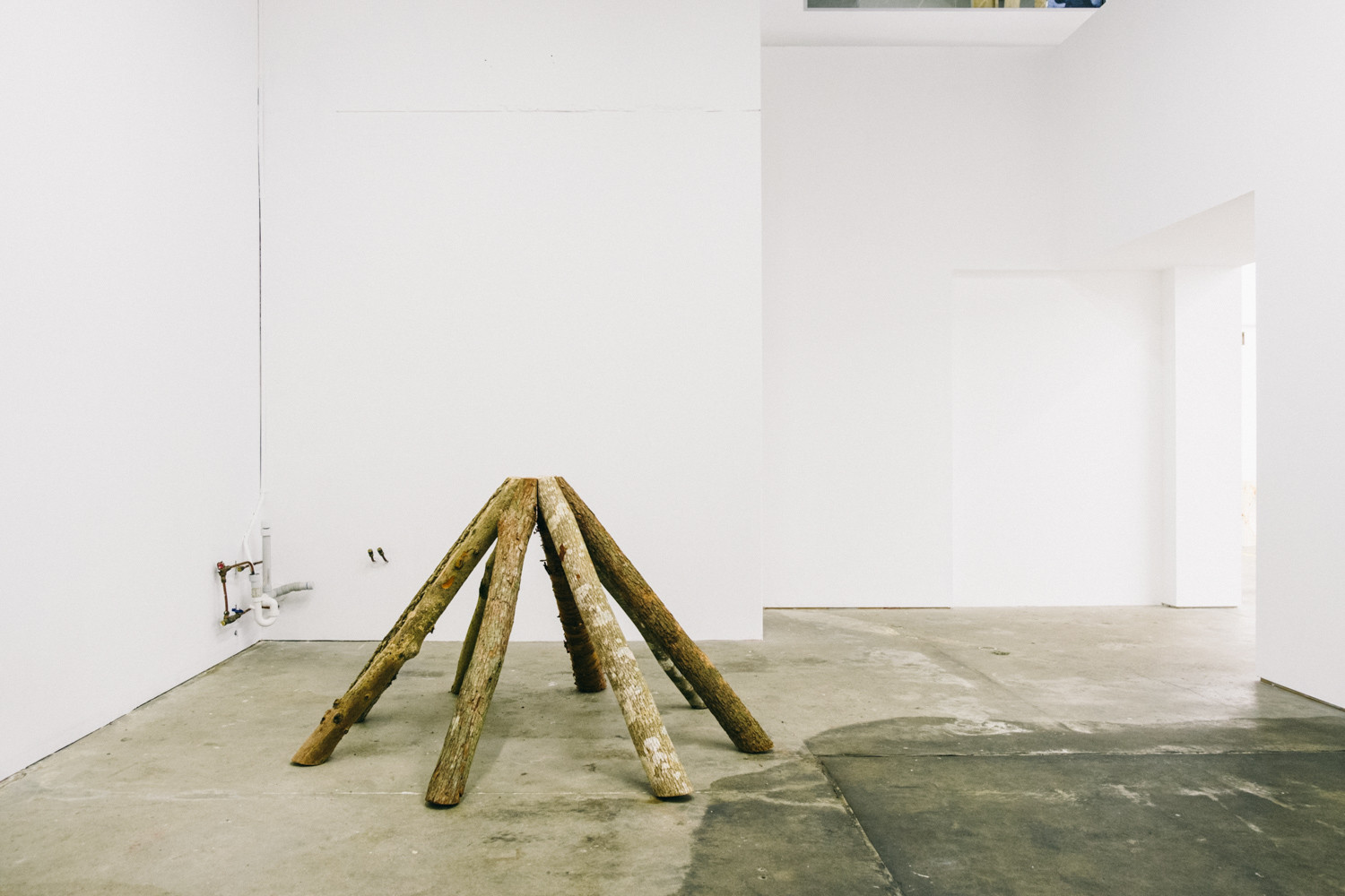 Briony Law 'Summer Residency Showcase' 2020. Installation View. Photo: Charlie Hillhouse.