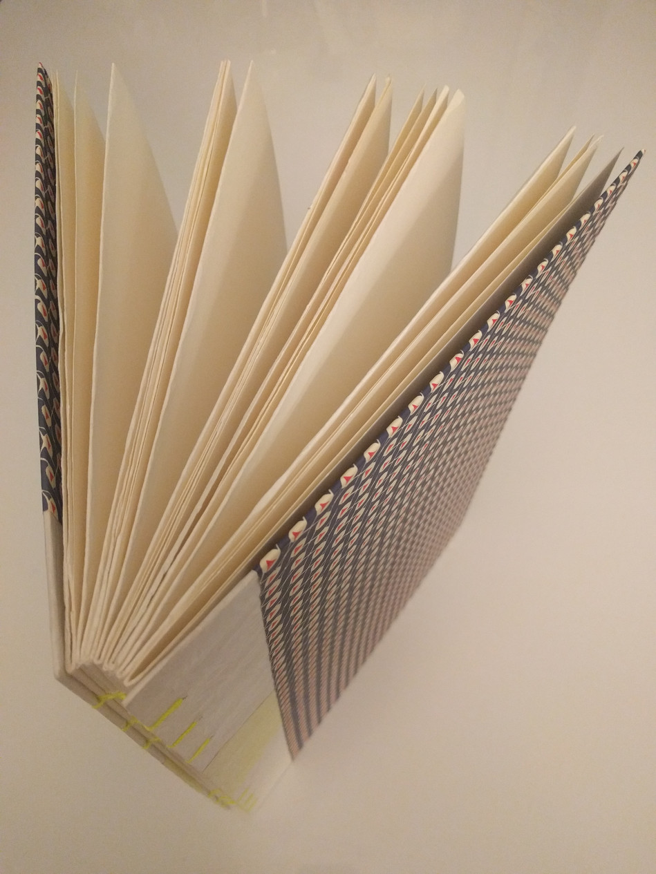 Joana's fold out book