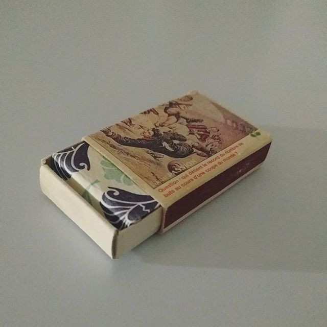 Match box book