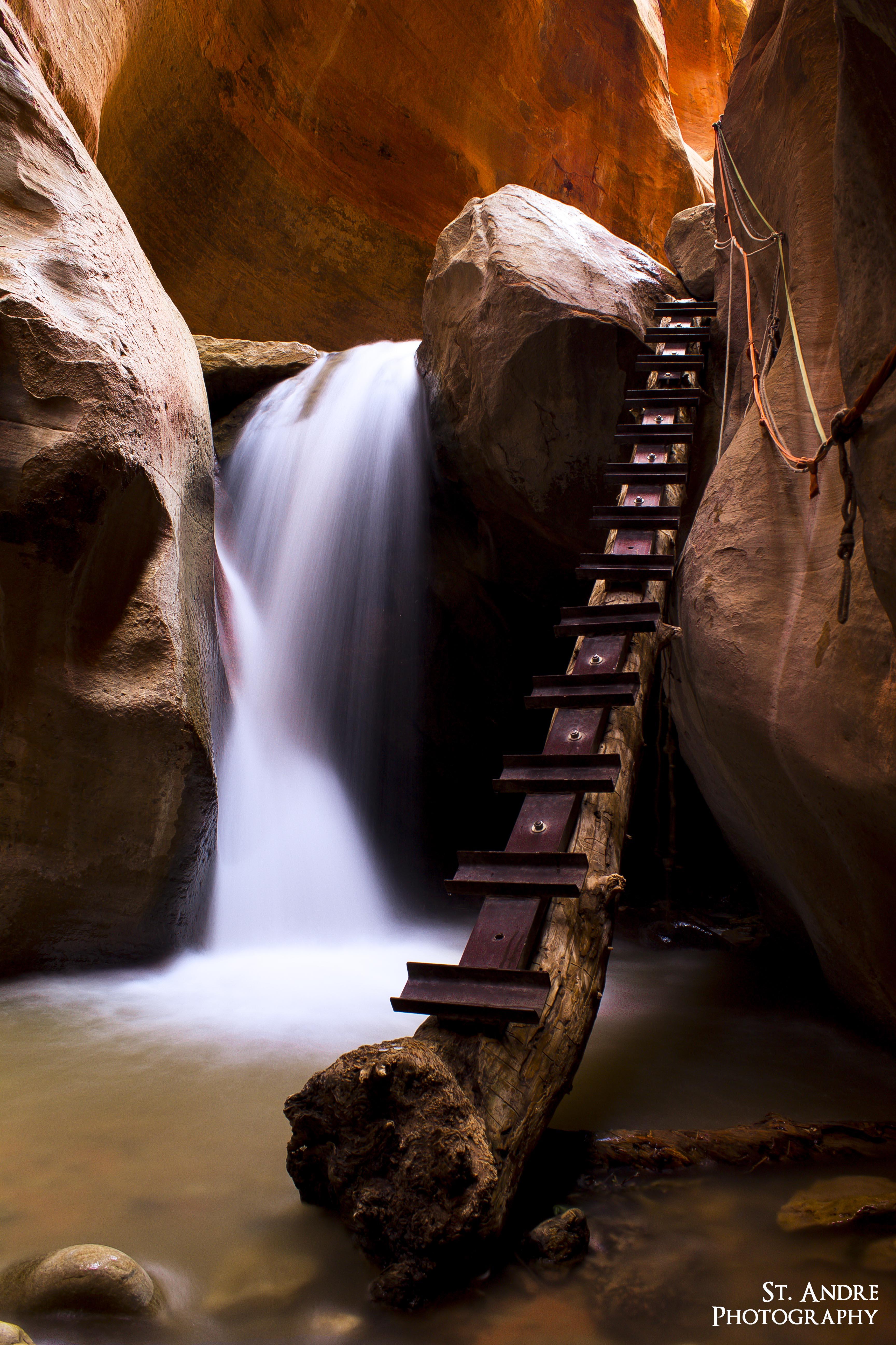 kanarraville falls log
