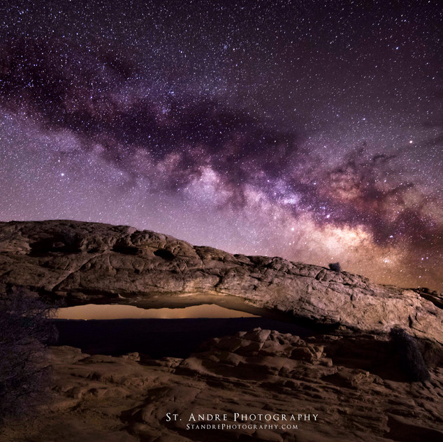 Milky Way Mesa Arch