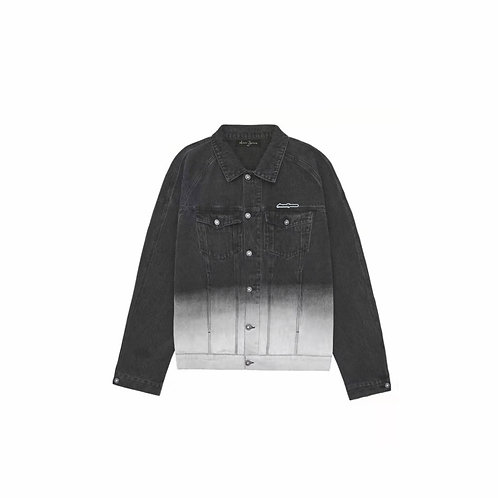 Aimme Sparrow 2020ss Gradient Dyed Palm Tree Jacket