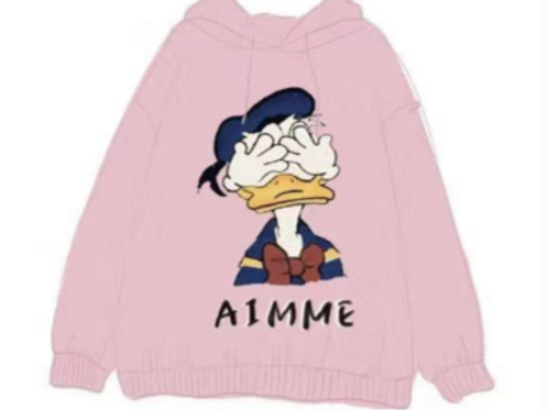 Aimme Sparrow 2020ss Pink Hoodie