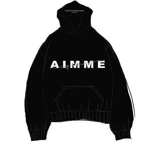 Aimme Sparrow 2020ss Logo Hoodie