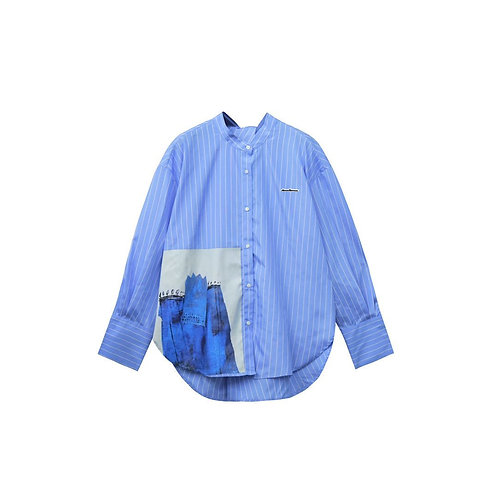 Aimme Sparrow 2020ss Stripped Cotton Shirt