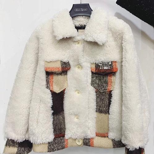 Aimme Sparrow 2020ss Faux Fur Coat