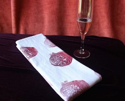 pomegranate cotton towel