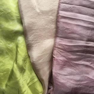 green & pinks