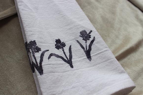 petite iris cotton towel