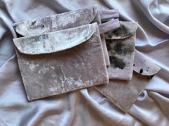 silk velvet pouch