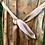 Thumbnail: custom mid-thigh / knee-length silk shawl