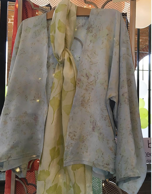 custom silk garment