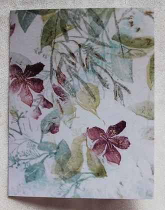 plum blossom bouquet