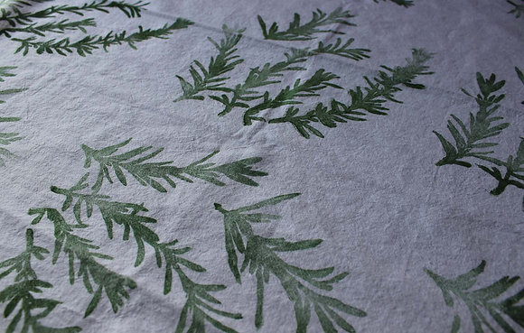 rosemary cotton towel