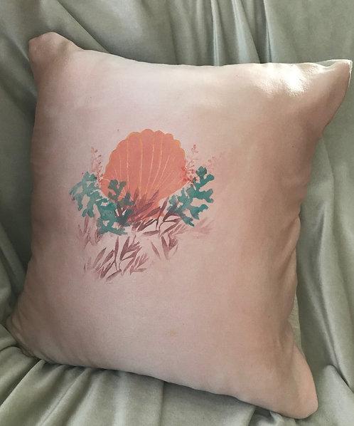 "15"" x 15"" silk throw pillow cover"
