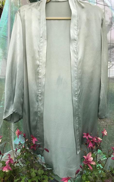 sage ombre shawl