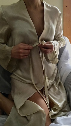 princess cut teal robe