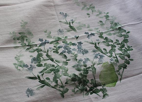 pear bouquet cotton towel