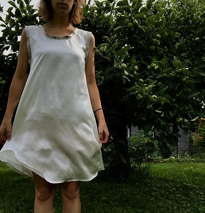 made to order: trumpet flower dress