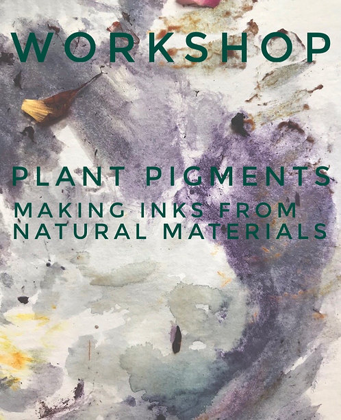 plant pigments: making inks from natural materials