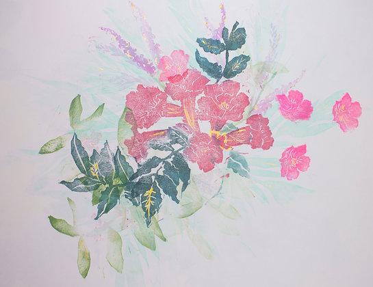 trumpet bouquet